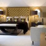 luksuslik chesterfield voodipeats kuldne